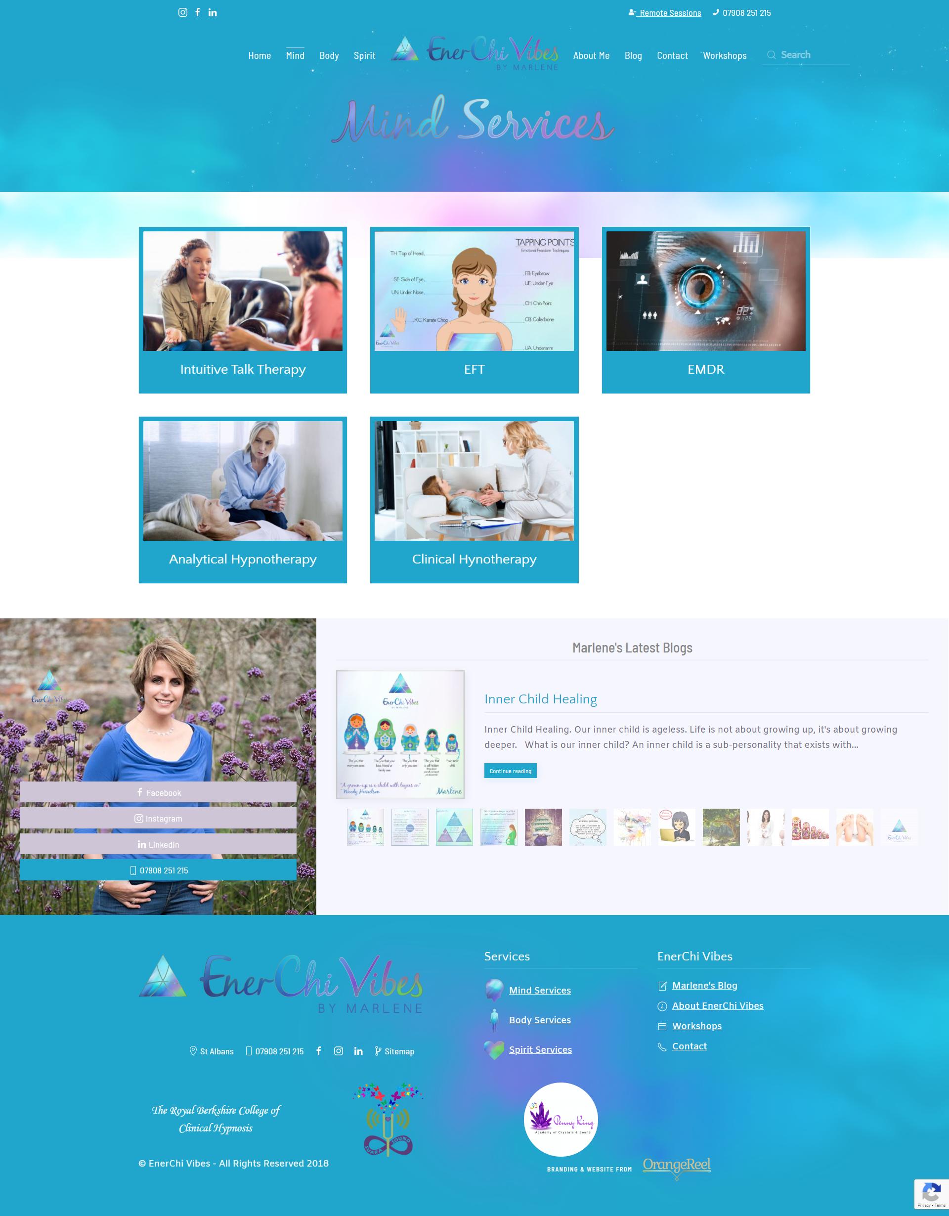 EnerChi Vibes Website